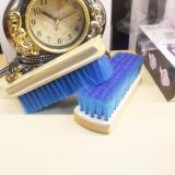Bàn chải xanh dương đa năng cho giày vài và giày da da chuyên dụng