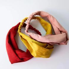 Băng đô turban vải nhung cao cấp mẫu mới 2017