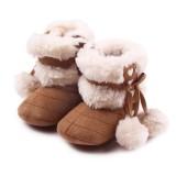 Bigood Bé Gái Giày Giáng Sinh Giày Tập Đi Bé Gái Giày Tập Đi Cà Phê-quốc tế