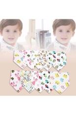 Hình ảnh Bộ 10 khăn yếm tam giác 2 lớp