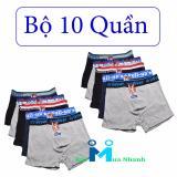 Bán Bộ 10 Quần Boxer Full Up Hang Việt Nam Trực Tuyến