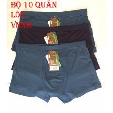 Giá Bán Bộ 10 Quần Lot Boxer Nam Sieu Thoang Mat Smart New Tốt Nhất