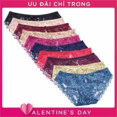 Hình ảnh Bộ 10 quần lót ren nữ SoYoung 10DL NU 035