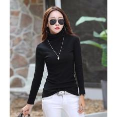 Hình ảnh Bộ 2 áo giữ nhiệt lót nỉ trơn thời trang (trắng+ đen)