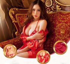 Mua Bộ 2 Đầm Ngủ Hoa Đao Kem Ao Choang Rẻ