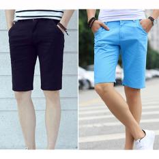 Cửa Hàng Bộ 2 Quần Shorts Nam Thời Trang Zenko 2Men Shorts 800003V2 B Rb Đen Xanh Dương Zenko Trực Tuyến