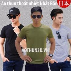 Bán Mua Bộ 3 Ao Thun Nam Thoat Nhiệt Nhật Bản Đen Xam Tieu Reu Mới Hồ Chí Minh