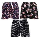 Mua Bộ 3 Quần Shorts Đui Chun Nữ Hoa Nhi Soyoung 3Wm Shorts 013C A B E Soyoung
