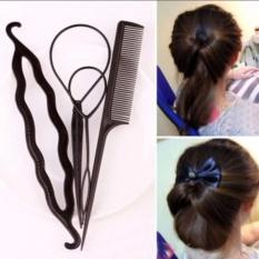 Bộ 4 dụng cụ búi tóc