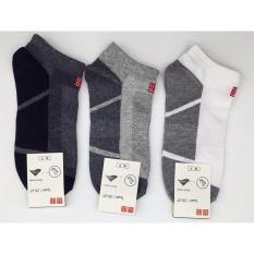 Bộ 5 đôi tất nam cổ thấp Nhật Bản ZEAL SHOP