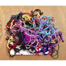 Bộ 50 dây buộc tóc handmade hình nơ tạo mẫu