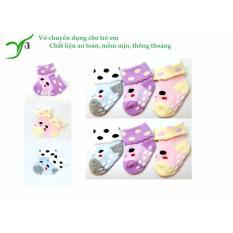 Sét 6 đôi vớ siêu đáng yêu dành cho các bé từ 0-3 tuổi