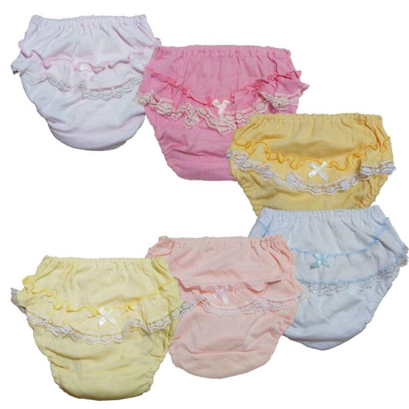 Nơi bán Bộ 6 quần lót bé gái cotton - M008