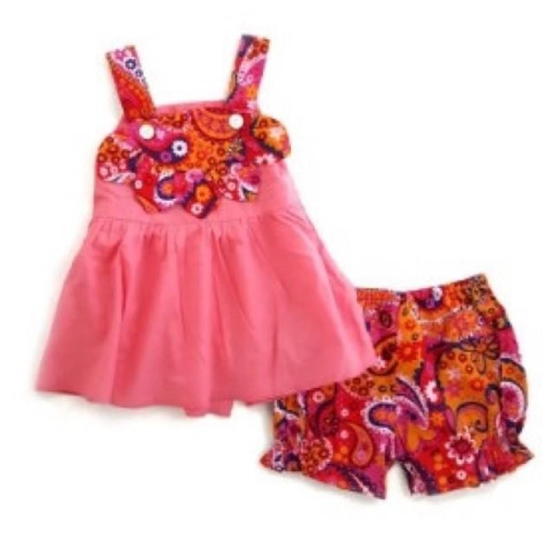 Nơi bán Bộ Bé Gái Size 1-8T Vải Kate