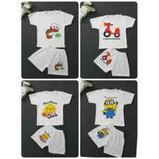 Hình ảnh Set 2 bộ cotton cho bé 1-5y made in VN