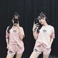 Bộ Cotton Sieu Xinh Nữ Co 3 Mau Rẻ