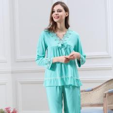 Cửa Hàng Bộ Đồ Ngủ Nữ Cotton Yaoting Bd 6109Z Xanh Trong Hà Nội