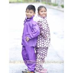 Hình ảnh Bộ Quần áo mưa Trẻ em Cao Cấp : Siêu bền - Siêu Nhẹ