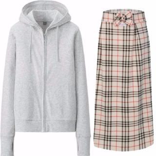Bộ sản phẩm áo khoác chống nắng nữ tặng kèm khẩu trang + chân váy chống nắng 2 lớp Dma store ( ghi ) thumbnail