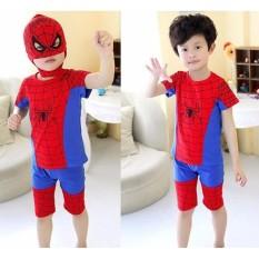 Hình ảnh Bộ siêu nhân nhện TẶNG mặt nạ cho bé trai năng động ( Cho bé từ 8-42Kg).