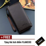 Giá Bán Bop Vi Nam Dai Da Pu Flancoo 9732 Nau Đậm Tặng Thẻ Tich Điểm Flancoo Nguyên