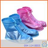 Bốt / ủng bảo vệ giày trời mưa cho nam cỡ trung bình size >40 (Hồng)