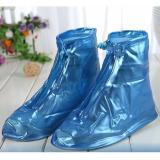 Bốt / ủng bảo vệ giày trời mưa cho nữ cỡ trung bình size 40 (Xanh)