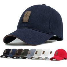 Thương hiệu Golf Logo nón lưỡi trai nam nữ cotton ngoài trời giày thể thao golf nón nam golf nón Màu Đen-quốc tế