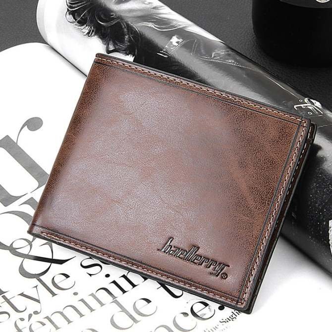 Leather Men Wallet Db03 Dark Brown Intl. Skip to the end of .