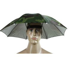 Giá bán Camo Umbrella Hat Cap Sun Shade Camping Fishing Brolly (Intl)