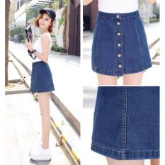 Chan Vay Jeans Ngắn Chữ A Size M Oem Chiết Khấu 30