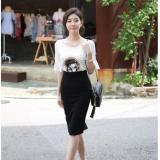 Chan Vay But Chi Nữ Xẻ Ta Sau Ton Dang Thanh Lịch Mau Đen Oem Chiết Khấu 50