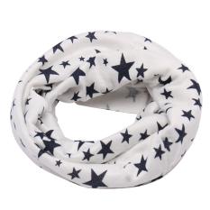 Giá bán Children Cotton Scarves Shawl Autumn Winter Knitting Kerchief (White) - intl