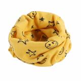 Chirldren Cổ Ngôi Sao Cho Bé Khăn Cotton Trẻ Em Khăn Choàng Cổ Nữ (Màu Vàng)-quốc tế