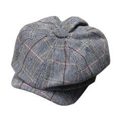 Giá Bán Classic Newsboy Cabbie Gatsby Hat Flat Ivy Cap Golf Tweed Wool Driving Beret Hat Grey Intl Mới Rẻ