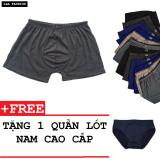 Giá Bán Bộ 10 Quàn Boxer Nam Dang Trơn Sieu Mat Tặng Kem Quàn Lot Zavans Zavans Tốt Nhất