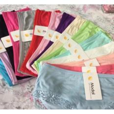 Hình ảnh combo 10 quần lót nữ viền ren chất cotton cao cấp MODAL