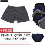 Bán Bộ 12 Quàn Boxer Nam Dang Trơn Sieu Mat Tặng Kem Quàn Lot Zavans Trong Vietnam