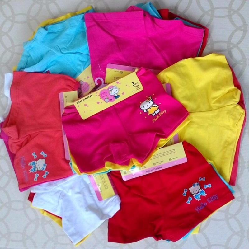 Nơi bán Combo 12 quần chip đùi cùng size, nhiều màu cho bé gái, size từ 6-28kg