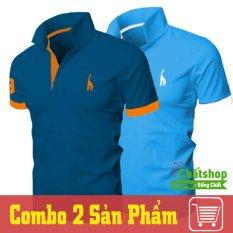 Bán Combo 2 Ao Thun Polo Hươu Xanh Cong Xanh Da Trực Tuyến Hồ Chí Minh