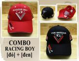 Giá Bán Combo 2 Non Thế Thao Racing Boy 27 Design Thời Trang K T Đen Đỏ Oem Tốt Nhất