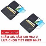 Combo 2 Vi Bop Nam Nhỏ Gọn Nhiều Ngăn Để Thẻ Cmnd Galaxy Store Gvmb01 Đen Hồ Chí Minh