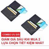 Bán Combo 2 Vi Bop Nam Nhỏ Gọn Nhiều Ngăn Để Thẻ Cmnd Galaxy Store Gvmb01 Đen Nguyên