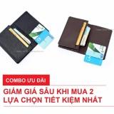 Combo 2 Vi Bop Nam Nhỏ Gọn Nhiều Ngăn Để Thẻ Cmnd Galaxy Store Gvmb01 Gvmb02 Đen Nau Chiết Khấu Hồ Chí Minh
