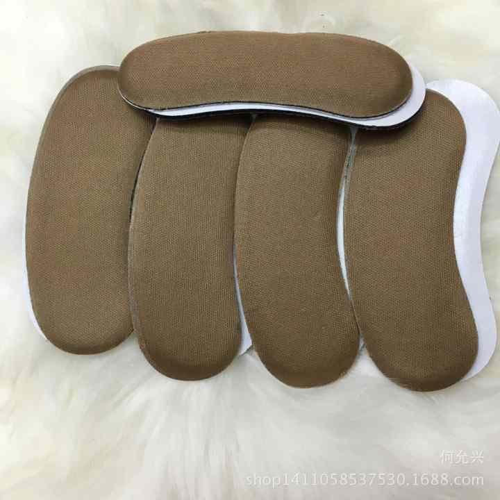 Combo 4 Miếng Lót Giày Nữ (Lót Gót Vải)