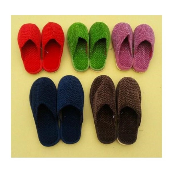 Combo 5 đôi dép đi trong nhà mua đông cho cả gia đình giá rẻ