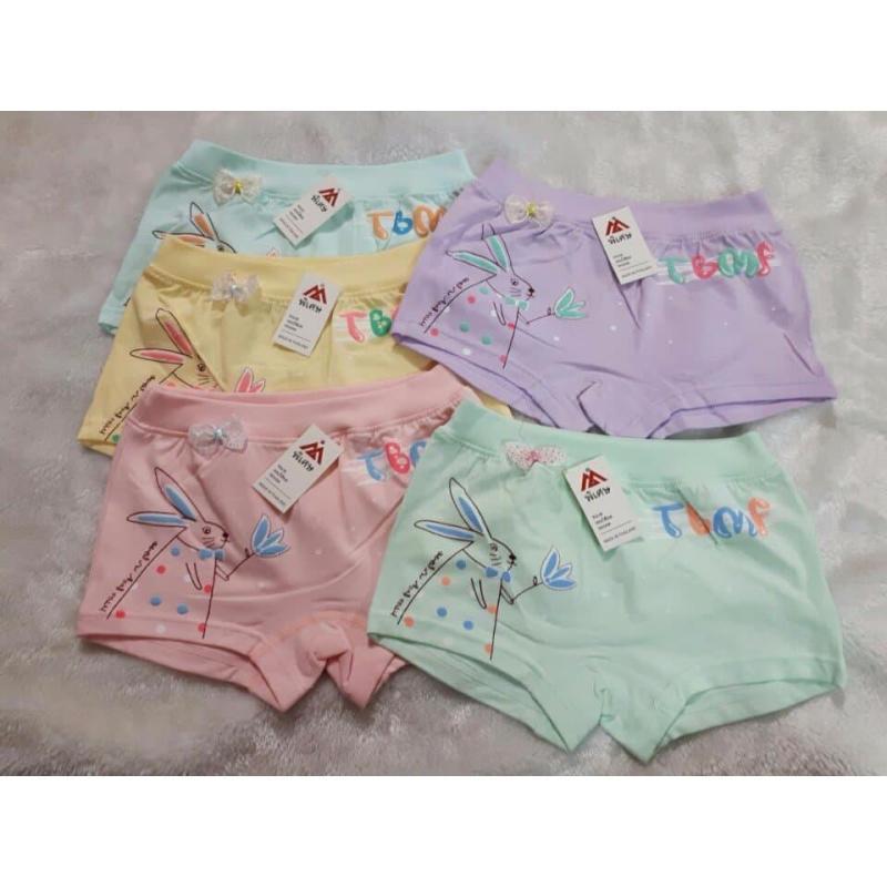 Nơi bán Combo 5 quần chip bé gái cotton, co dãn tốt sz từ 1-8 tuổi ngẫu nhiên