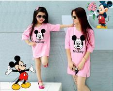 Giá bán Combo áo thun mẹ và bé Mickey TH08444