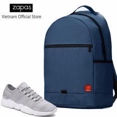 Cửa Hàng Combo Balo Classical Bll006 Xanh Giay Sneaker Nam Gs081 Xam Cb196 Zapas Trực Tuyến