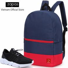 Bán Combo Balo Classical Bll007Bu Giay Sneaker Gz016 Đen Cb242 Zapas Rẻ